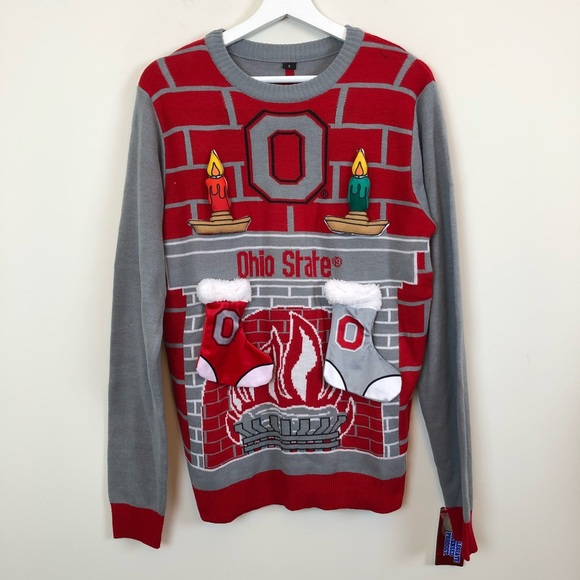 Ohio State Ugly Christmas Sweater.Ohio State Ugly Christmas Sweater Size Small Nwt